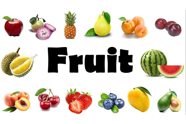 từ vựng tiếng anh trái cây