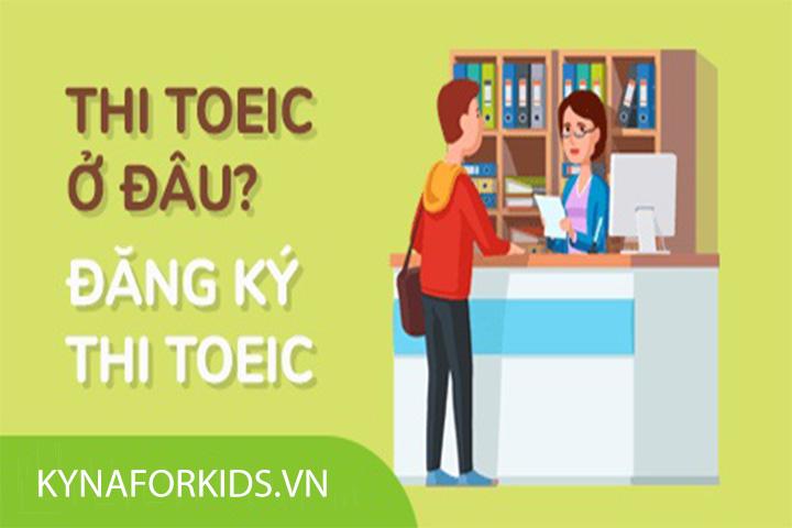 đăng ký dự thi toeic