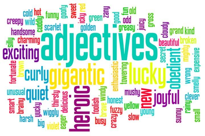 khái niệm tính từ adjective