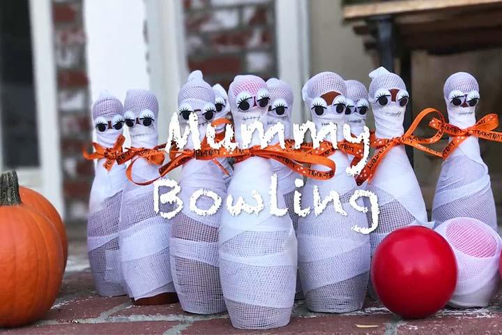 cách chơi ma bowling halloween