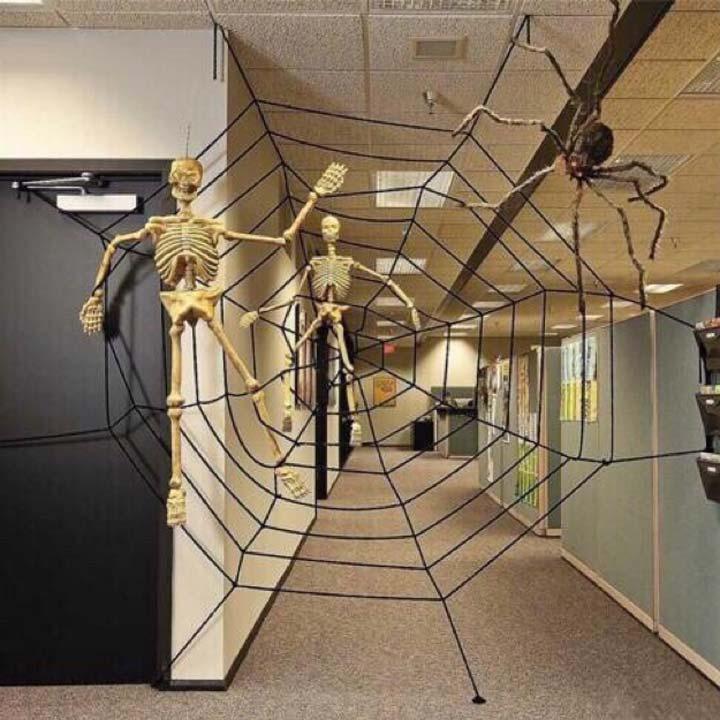cách chơi mạng nhện halloween