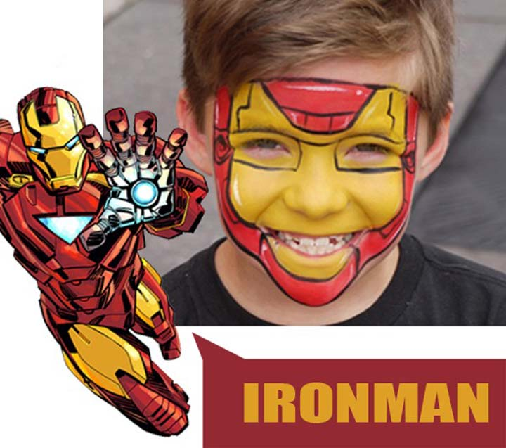 halloween for kids iron man