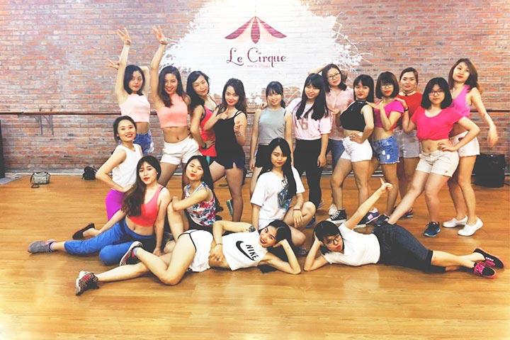 lớp học nhảy hiện đại le cirque dance studio