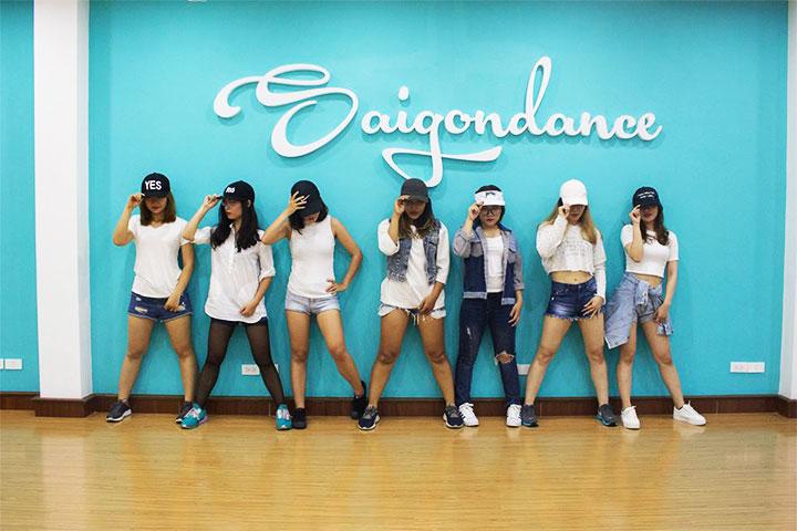 lớp học nhảy hiện đại saigon dance