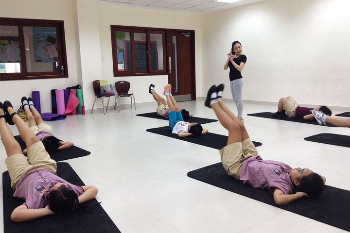 lớp học nhảy hiện đại tdt event