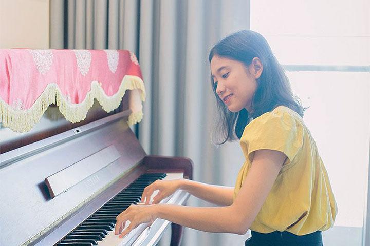 lớp học piano trẻ em seami