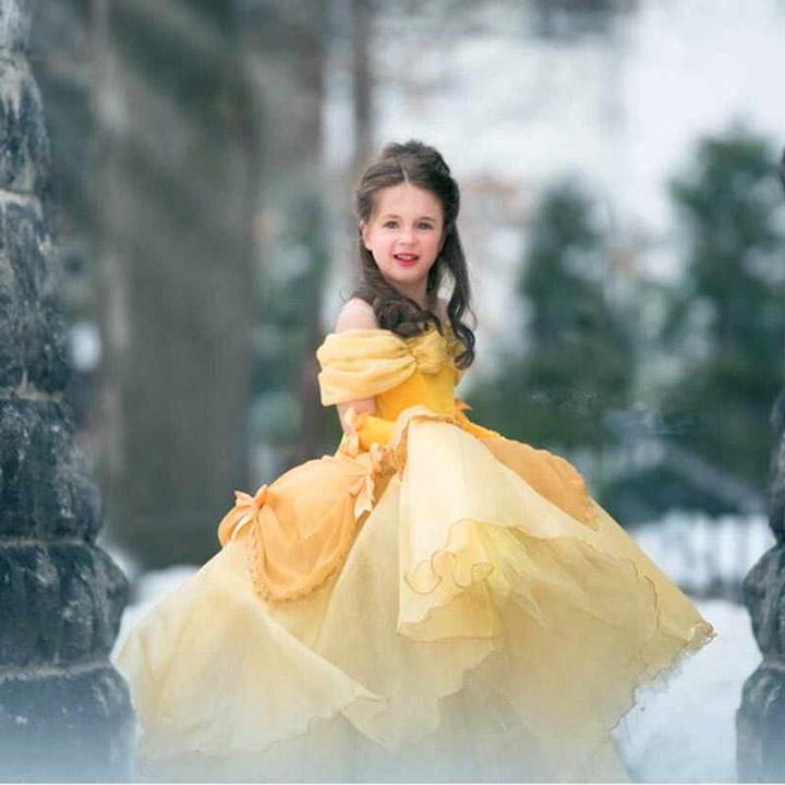 mẫu hóa trang halloween công chúa