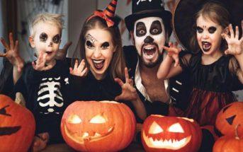 mẫu hóa trang halloween dành cho trẻ em