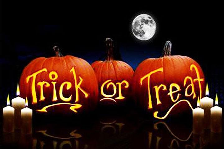 trò chơi hallowen trick or treat
