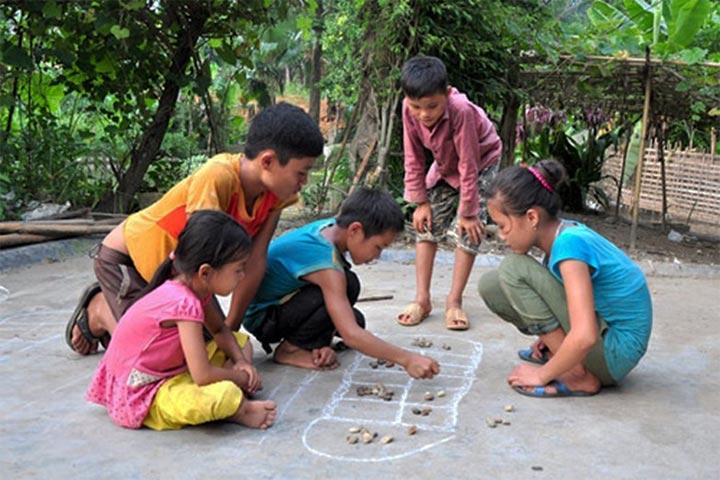 trò chơi trẻ em ô ăn quan