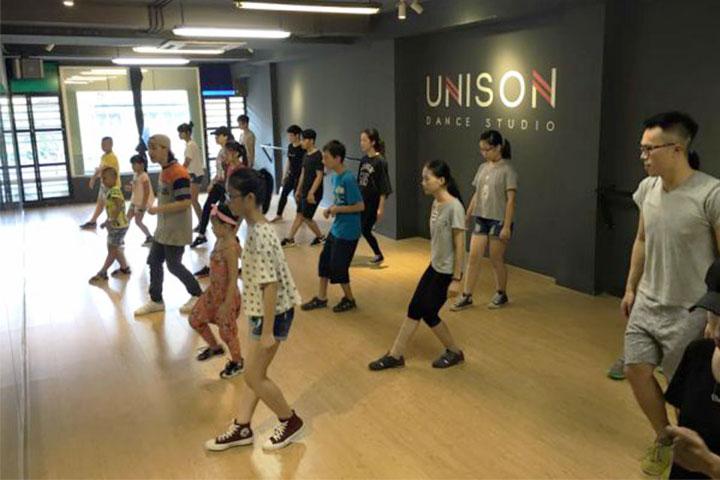 trung tâm dạy nhảy unison dance studio