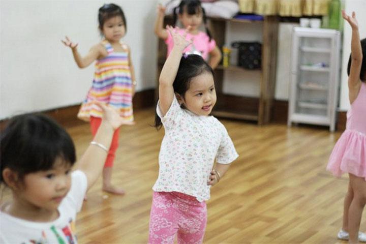 trung tâm dạy nhảy kids art music sai gon