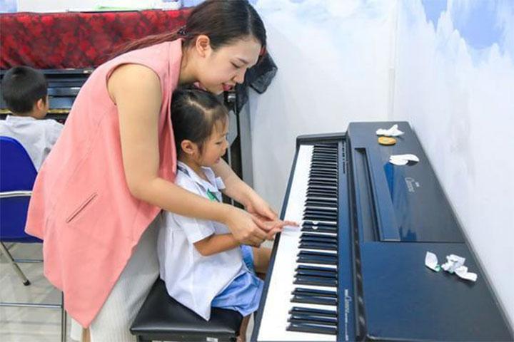 trường dạy piano trẻ em seami