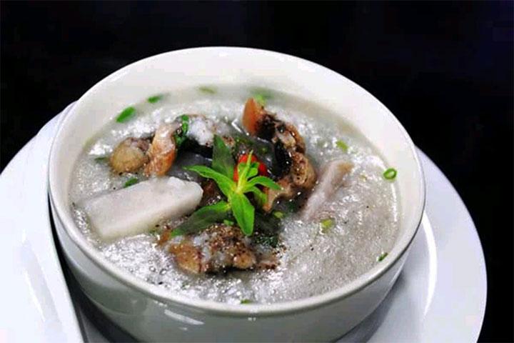 cháo lươn khoai môn