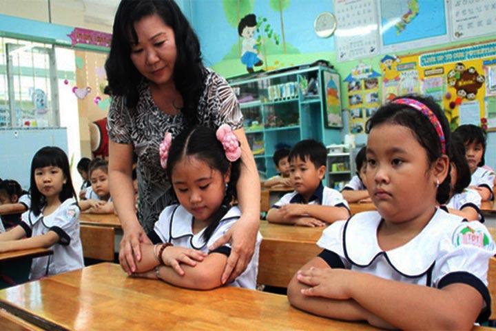 chuẩn bị hồ sơ cho trẻ vào lớp 1