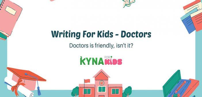 đoạn văn tiếng anh về nghề bác sĩ