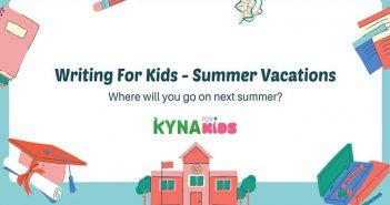 luyện viết tiếng anh về kỳ nghỉ hè
