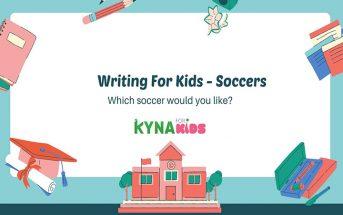 practice writing english soccer