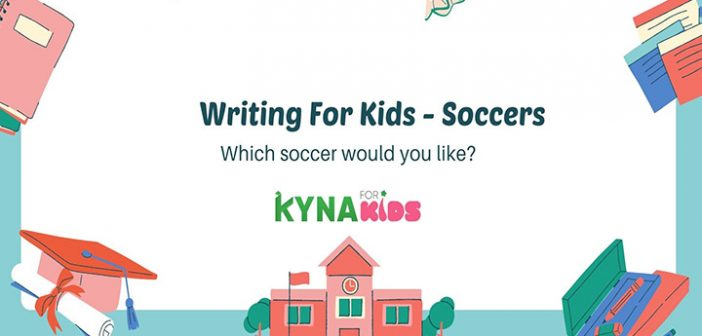 practice writing english soccer