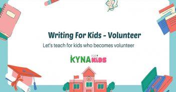 practice writing english volunteer