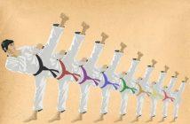 các bậc đai karatedo