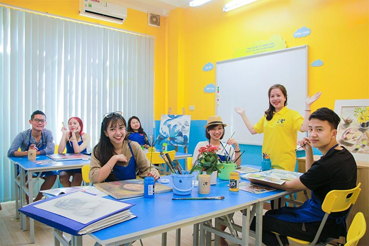 trung tâm dạy vẽ hà nội art tree