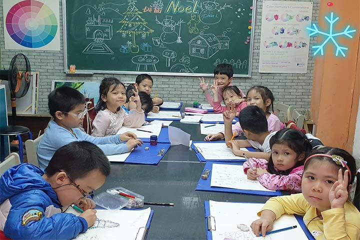 lớp học vẽ hà nội cọ xinh