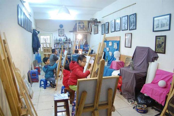 lớp học vẽ hà nội d'art
