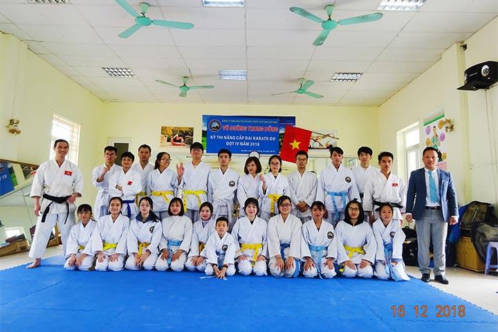 lớp học võ karate hà nội hà đông