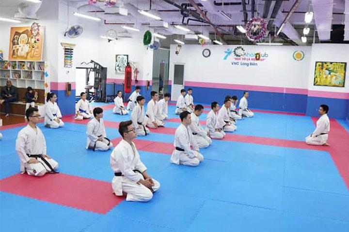 lớp học võ karate hà nội việt nhật