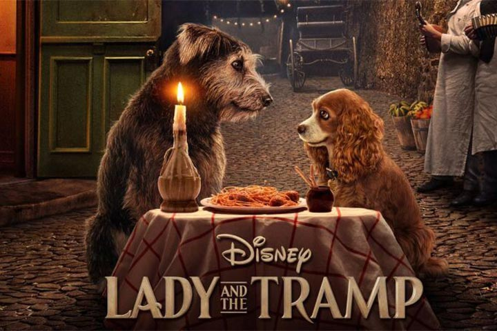 phim hoạt hình lady and the tramp