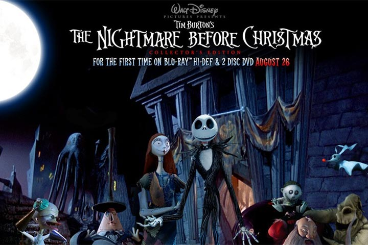 phim hoạt hình the nightmare before christmas
