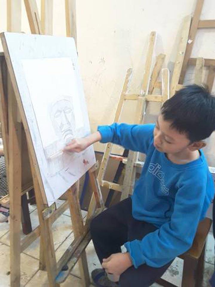 trung tâm dạy vẽ hà nội d'art