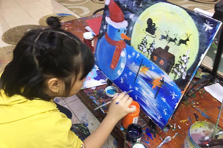 trung tâm dạy vẽ hà nội teppi art club