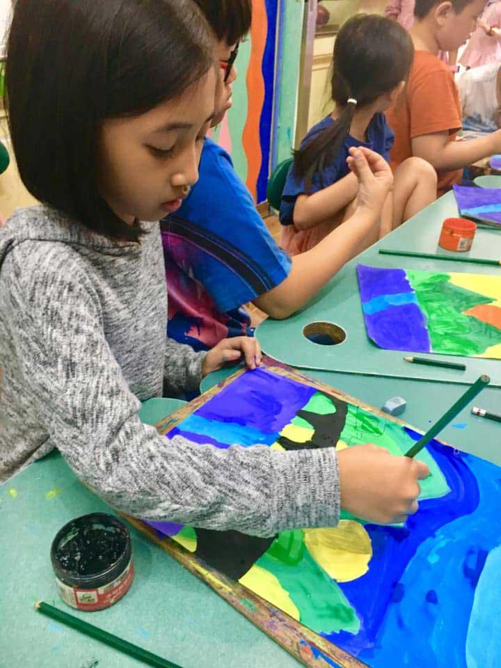 trung tâm dạy vẽ hà nội vitaminart studio