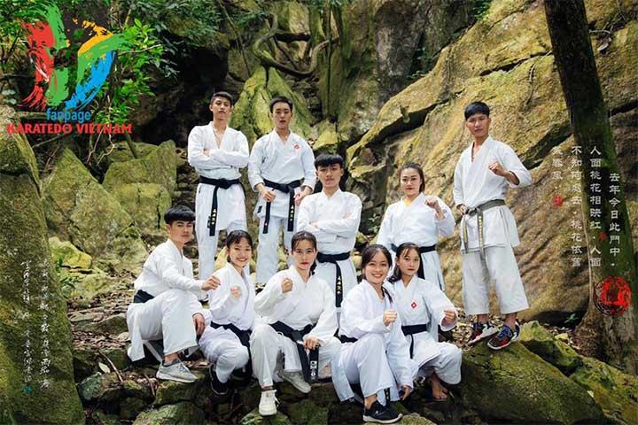 trung tâm dạy võ karate chương mỹ