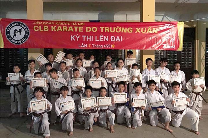 trung tâm dạy võ karate trường xuân