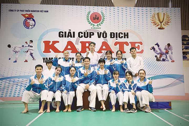trung tâm dạy võ karate võ đường uy sơn
