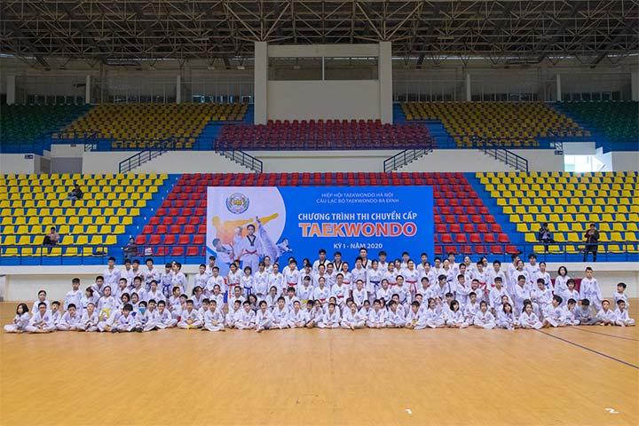 trung tâm dạy võ taekwondo ba đình