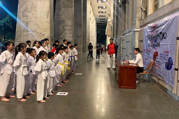 trung tâm dạy võ taekwondo hoàn kiếm