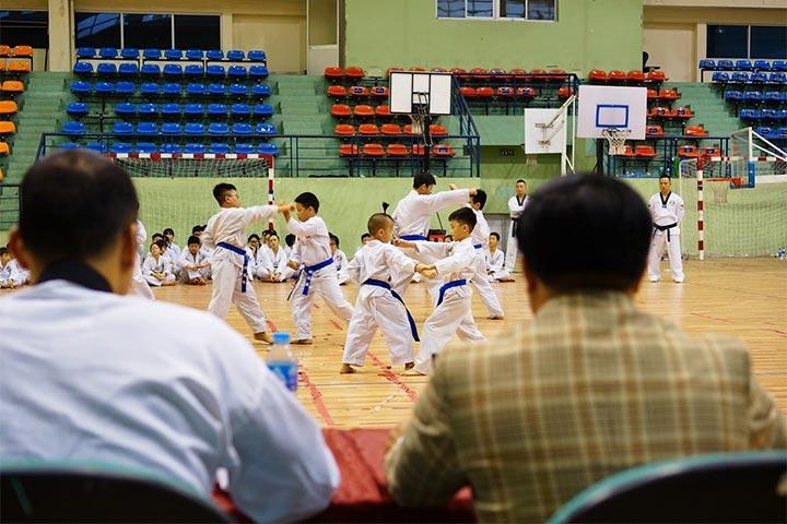 trung tâm dạy võ taekwondo hai bà trưng hà nội