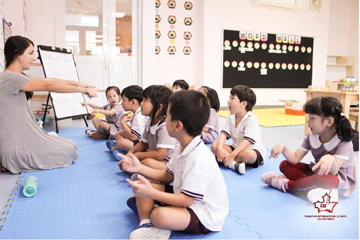 trường tiểu học quốc tế hcm canadian international school cis
