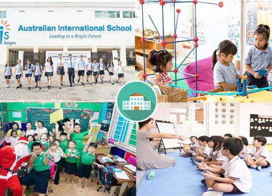 TOP 20 Trường Tiểu Học Quốc Tế Tại TPHCM Tốt Nhất