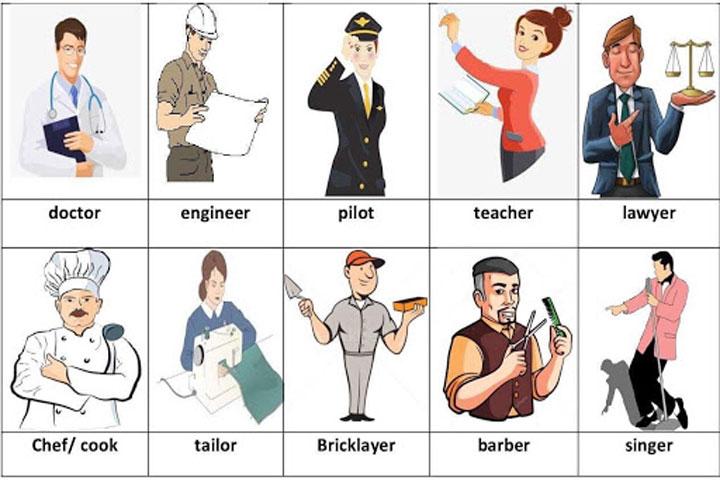 vocabulary english jobs