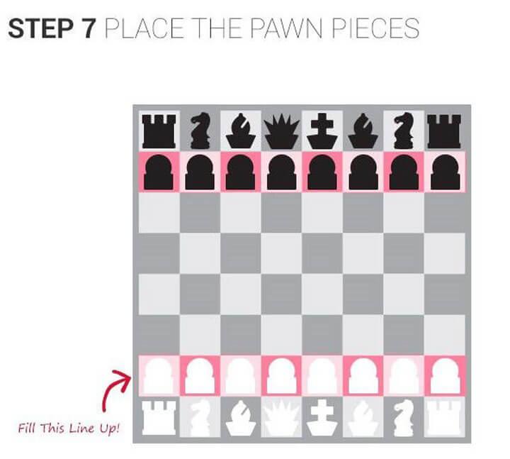 cách đặt bàn cờ vua 07