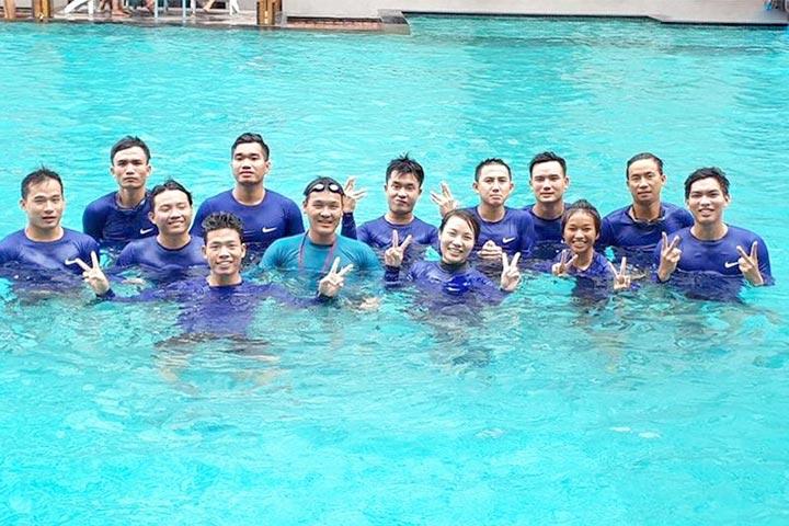 clb dạy bơi tphcm rạch miễu phú nhuận