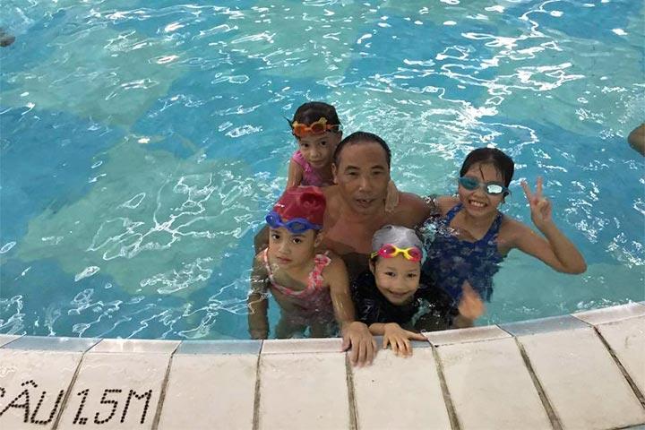 lớp học bơi hà nội t-swimming