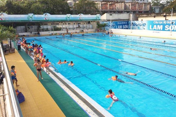 lớp học bơi tphcm lam sơn