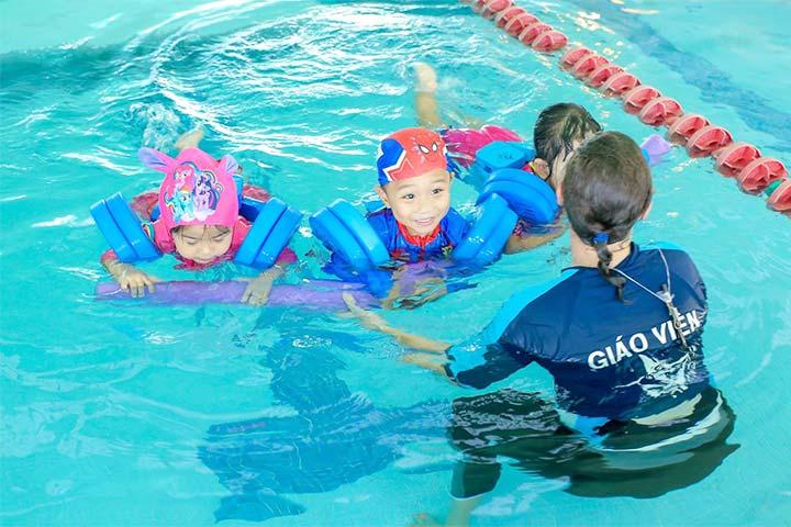 lớp học bơi tphcm paul sadler swimland