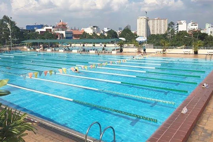 lớp học bơi tphcm rạch miễu phú nhuận